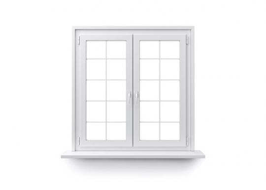Dreh-Kipp-Fenster Dekor